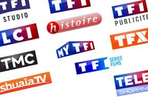 Toutes les structures du Groupe TF1