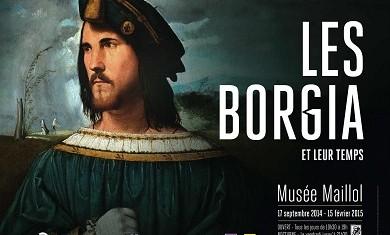 Histoire partenaire de l'exposition les Borgia et leur temps au Musée Maillol