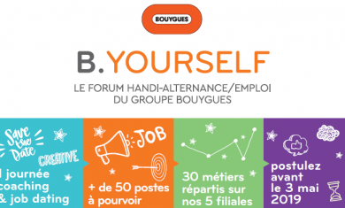 B. YOURSELF - Forum Handi-alternance& Emploi du Groupe Bouygues