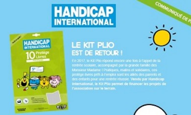 Find out about the Plio Kit for Handicap International