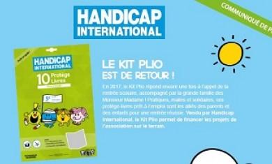 Découvrez le Kit Plio pour Handicap International