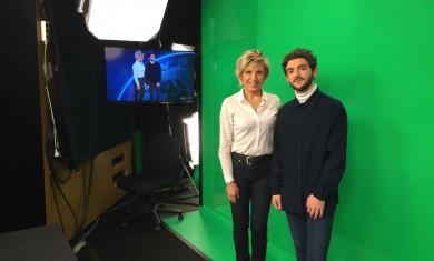 A l'occasion des #40ansTF1, l'emblématique Evelyne Dhéliat a accompagné et coaché Etienne durant une journée inoubliable !