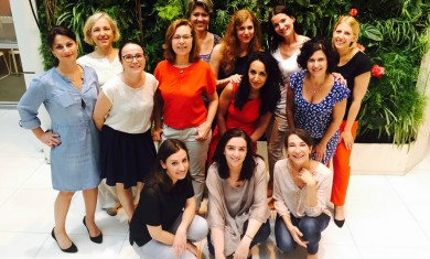 Fifty-Fifty, the TF1 women's network celebrates first birthday!
