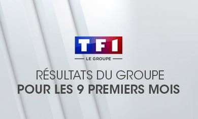 Résultats de TF1 pour les 9 premiers mois 2004