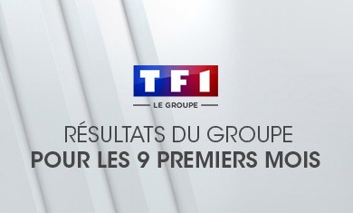 Résultats de TF1 pour les 9 premiers mois 2006