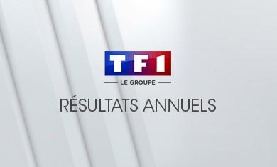Communiqué de presse résultats annuels TF1 2017