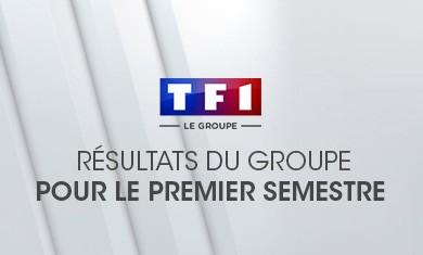 Résultats de TF1 pour le premier semestre 2004