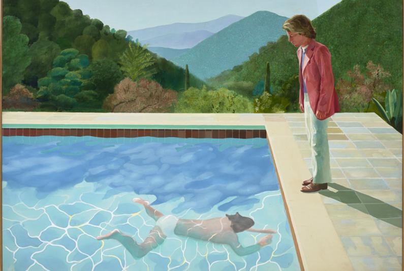 TF1 et LCI sont partenaires de la rétrospective consacrée à David Hockney du 21 juin au 23 Octobre.