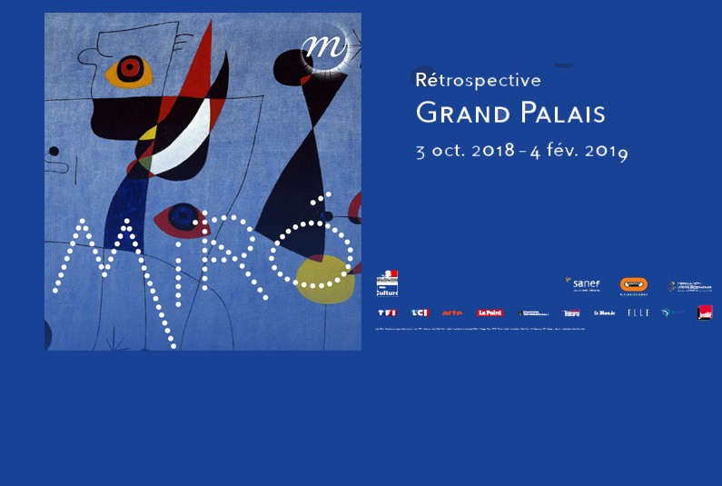 TF1 et LCI partenaires de la rétrospective Miró au Grand Palais