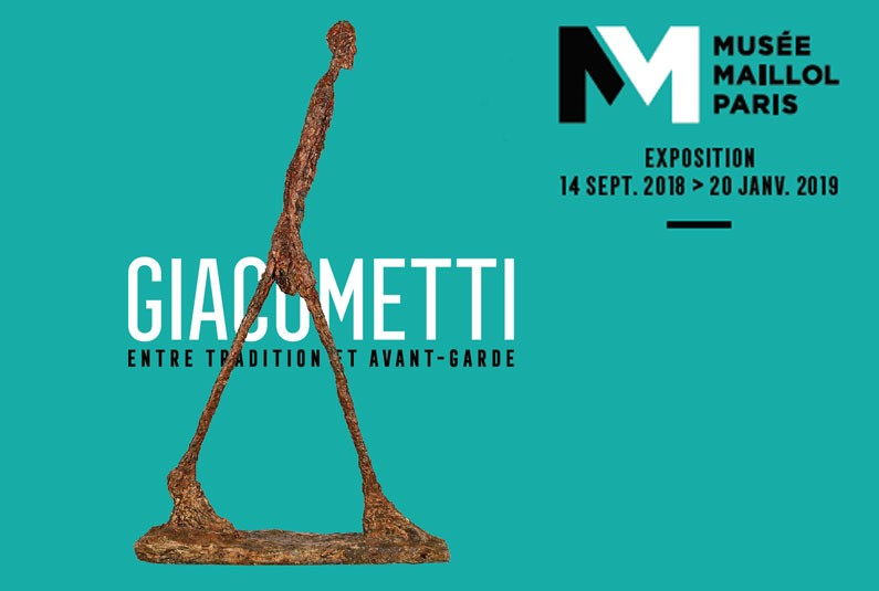GIACOMETTI EXHIBITION PARTNERSHIP MUSEE MAYOL