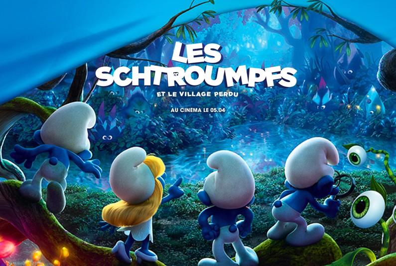 """Avant-première du film """"Les Schtroumpfs et le village perdu"""""""