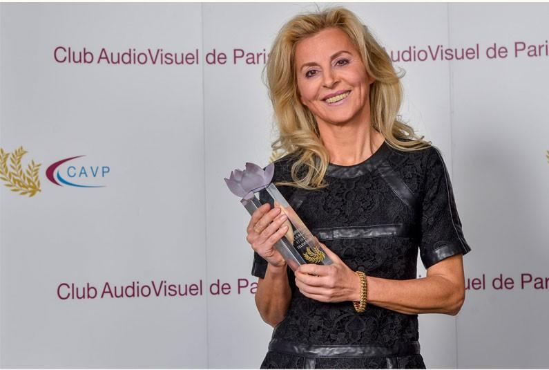 Liseron Boudoul a reçu lundi 12 février le Laurier du Grand Reporter – Prix Patrick Bourrat