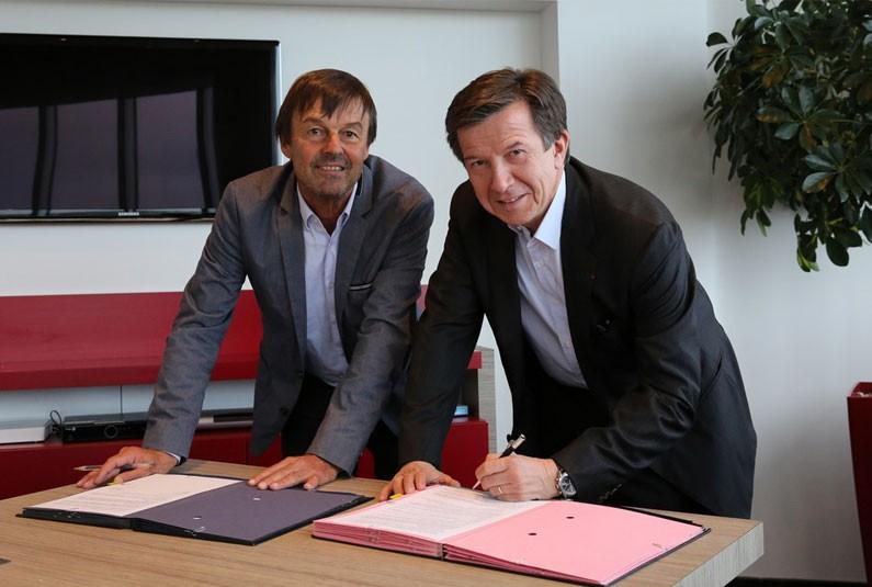 PARTENARIAT GROUPE TF1 FONDATION NICOLAS HULOT