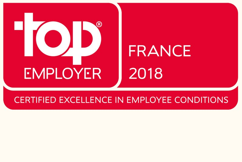Le groupe TF1 a obtenu la certification Top Employer France 2018